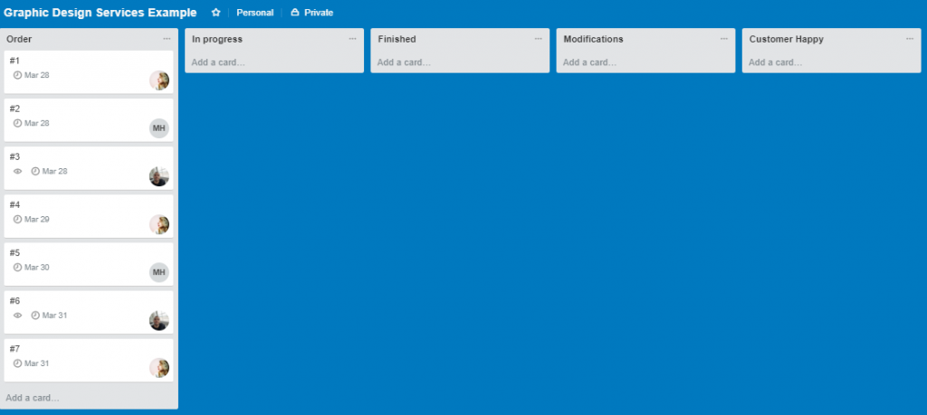 Trello Project Management